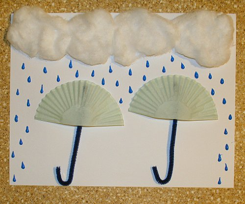 Free Craft Patterns and Templates - Umbrella Template